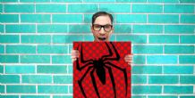 Spiderman Marvel Comic Art - Wall Art Print Poster Square - Geekery Art Geekery
